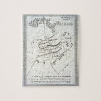 A Plan of the Glorious Battle of Waterloo (engravi Jigsaw Puzzle