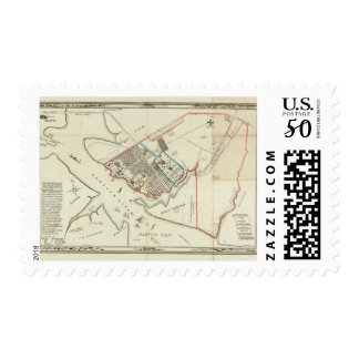 A Plan Of The Property Of The Hampton Normal Postage