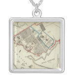 A Plan Of The Property Of The Hampton Normal Silver Plated Necklace