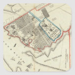 A Plan Of The Property Of The Hampton Normal Square Sticker