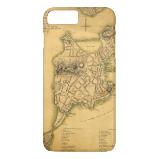 A Plan of the Town of Boston Map (1775) iPhone 7 Plus Case