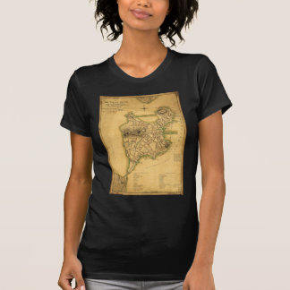 A Plan of the Town of Boston Map (1775) T Shirt