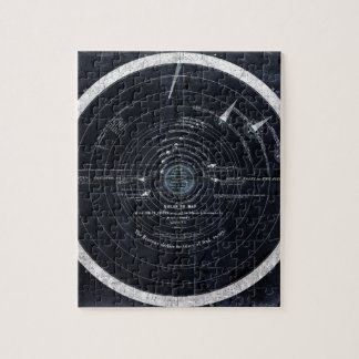 A plan or map of the Solar System Jigsaw Puzzle
