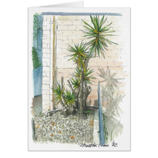 a plant in a corner cards