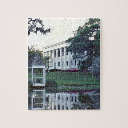 A Plantation On The Mississippi Jigsaw Puzzle