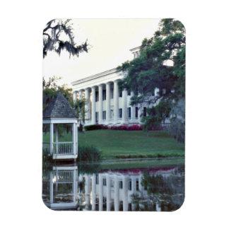 A Plantation On The Mississippi Rectangular Photo Magnet