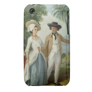 A Planter and his Wife, Attended by a Servant, c.1 Case-Mate iPhone 3 Case