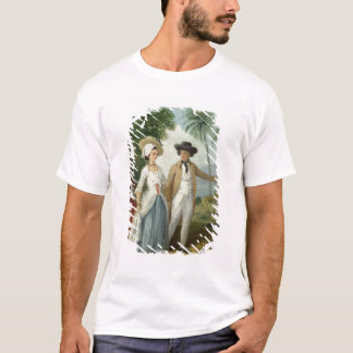 A Planter and his Wife, Attended by a Servant, c.1 T-Shirt
