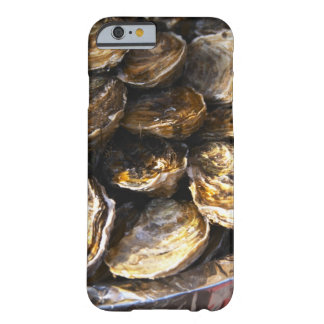 A plate of oysters. barely there iPhone 6 case