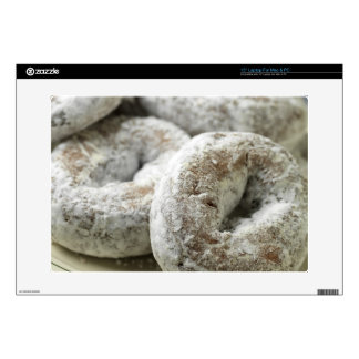 """A plate of sugar donuts skin for 15"""" laptop"""