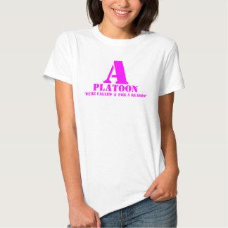 A Platoon Pink T Shirt