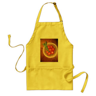 A Platter of Tomatoes. Adult Apron
