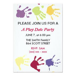 Play Date Invitations Zazzle