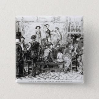 A Play in a London Inn Yard Button