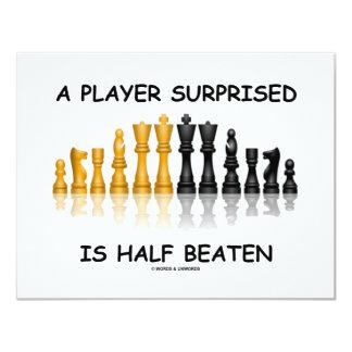 A Player Surprised Is Half Beaten (Chess Attitude) Custom Announcement