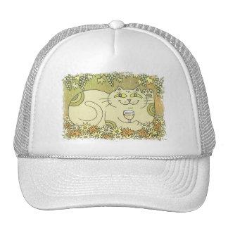 A Pleasing Glass of Pinot Grigio Trucker Hat