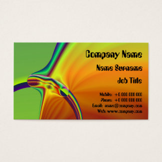 A Pleasure Fish Business Card