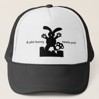 A plot bunny needs you! Cap