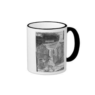 A Plot with Powder, 1605 Ringer Coffee Mug