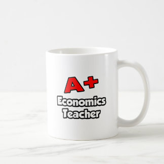 A Plus Economics Teacher Mug