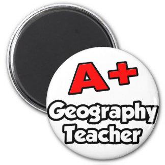 A Plus Geography Teacher Fridge Magnets