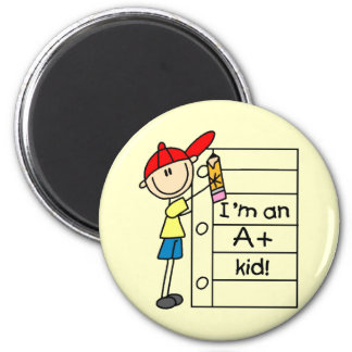 A Plus Kid Fridge Magnet