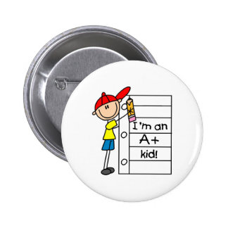 A Plus Kid Pinback Button