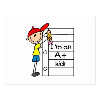 A Plus Kid Postcard