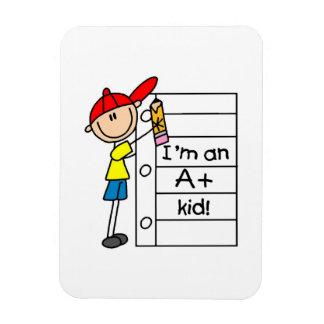 A Plus Kid Rectangular Magnet