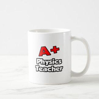 A Plus Physics Teacher Coffee Mugs