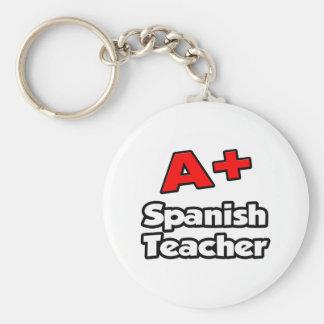 A Plus Spanish Teacher Keychain