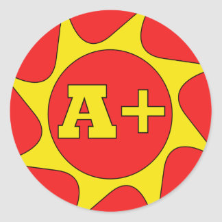 A Plus Teachers Stickers