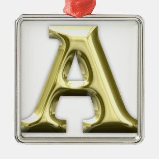 A.png Metal Ornament