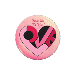 A Pocket-Sized Heart Full of Love Personalized Candy Tins