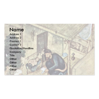 A Poet And Dervish In The Domestic Scene Detail By Business Card Templates