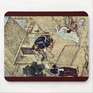 A Poet And Dervish In The Domestic Scene Detail By Mouse Pad