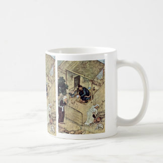 A Poet And Dervish In The Domestic Scene Detail By Classic White Coffee Mug