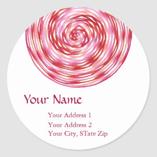 """A Point of Focus IX"" Address Label"