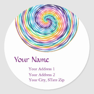 """A Point of Focus VI"" Address Label"