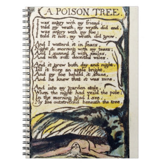 'A Poison Tree', plate 50 (Bentley 49) from 'Songs Notebook