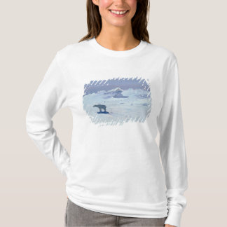 A Polar Bear Hunting in Moonlit Night, 1899 T-Shirt