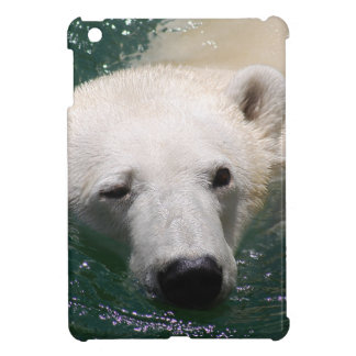 A polar bear just chilling iPad mini cover