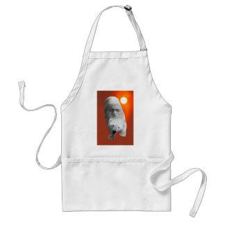 A polar bears sacredness and plight adult apron