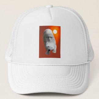 A polar bears sacredness and plight trucker hat