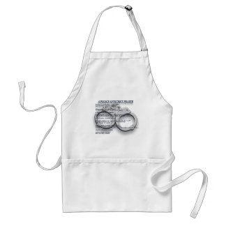 A POLICE OFFICER'S PRAYER ADULT APRON