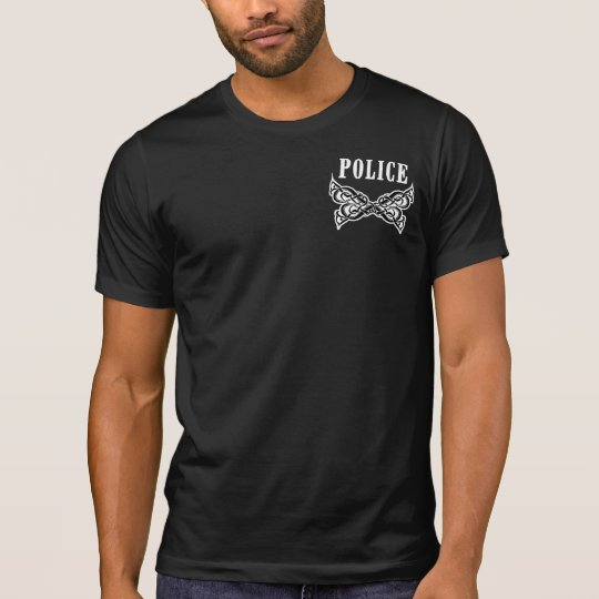A Police Tattoo T-Shirt