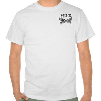 A Police Tattoo T Shirts