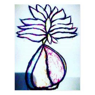 A Polyphonic Lotus Heart by Luminosity Postcard