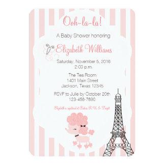 A Poodle in Paris Card