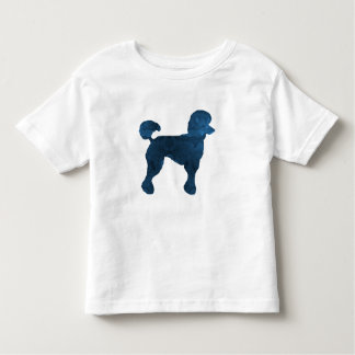A poodle toddler t-shirt